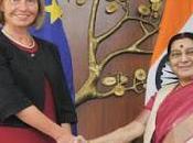 Unione Europea/Federica Mogherini, bete noir dell`India, arriva Delhi/2
