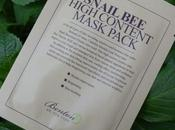 Recensione: snail high content mask pack benton cosmetics