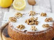 Torta alle noci limone senza glutine
