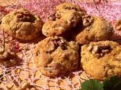 Biscotti farro, noci, pera uvetta