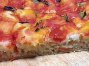 Pizza taglio pomodoro impasto base nr.3 della Cuochina