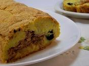 Rotolo patate tonno olive nere