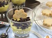 Ricetta tutorial: bicchieri crema pasticcera vegana biscottini farro