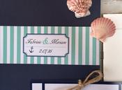 WEDDING STATIONERY: inviti tema marino Fabrizio Miriam