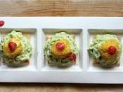 Polpette lupini mousse avocado crackers integrali