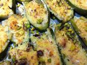 Zucchine ripiene (con timo pistacchi)