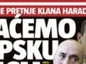 Serbia. corso campagna mediatica anti-albanese: odio etnico principali giornali