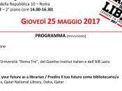 Agenda: Future Librarians (Roma 25/05/2017, 14-16.30)