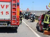 Crotone, incidente stradale sulla bivio Papaniciaro