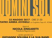 """maggio 2017 """"Uomini Soli"""" Commemorazione anniversario delle stragi Capaci D'Amelio Teatro Jovinelli"""