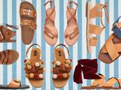 sandali l'estate 2017 sono Flat!