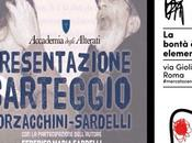 """maggio 2017 presentazione libro """"Carteggio Borzacchini-Sardelli 1996-2014"""" Mercato Centrale"""