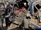 Ennesima esplosione un'autobomba centro Mogadiscio (Somalia)