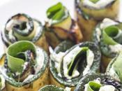 Rotolini zucchine pesto