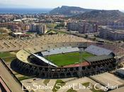 stadio Sant'Elia, realizzato 1970 dopo conquista dello scudetto Cagliari Calcio. Oggi disputerà l'ultima partita della storia.