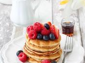Pancakes integrali frutti bosco (senza lattosio)