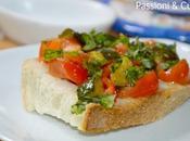 Bruschetta zucchine pomodori