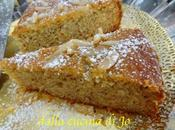 Torta polenta ricotta profumata limone