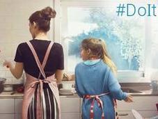 Famiglia felice, ovvero aiutarsi vicenda #DoItTogether