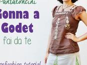 Refashion: Come cucire gonna godet pantaloncini