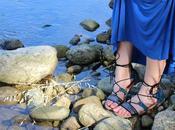 Look boho-chic sandali alla schiava Deichmann primavera estate 2017