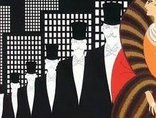 stile dell'età jazz ruggenti anni venti: l'Art Déco