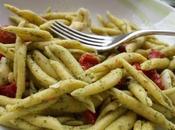 Insalata pasta peperoni pomodorini confit pesto destrutturato