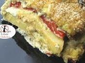Millefoglie verdure pesto Creme fraiche (panna acida)