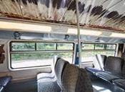 arrivo treno carico opere d'arte 600mq vinile