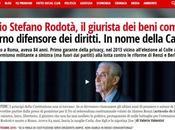 Onore Stefano Rodotà, degli eroi della lotta renzismo.