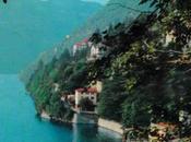 foto-cartolina dell'arrivo battello pontile della frazione COATESA, Comune Nesso