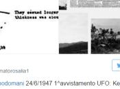 """Ufo, settant'anni primo avvistamento """"piattini volanti"""""""
