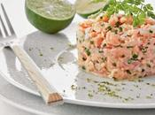 Semplice Tartara salmone