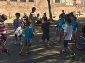 giugno 2017 giochi laboratori bambini Parco Carlo Felice. termine esibizione mimo Sasha Aleksovski
