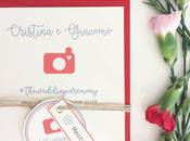 "WEDDING INVITATIONS: coordinato grafico Cristina Giacomo, sposi ""Instagram addicted"""