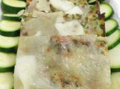 Quadrotti alle zucchini torciglioni sfoglia gusti