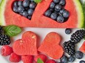 Luglio carrello: frutta verdura portare tavola