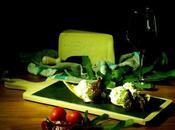 Spuma formaggio Asiago fichi caramellati polenta croccante