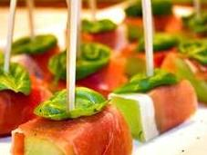 Finger Food Prosciutto Melone
