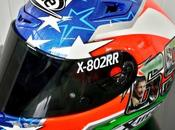 "X-lite X-802RR E.La Marra ""Nicky Hayden Tribute"" Mugello 2017 Design"