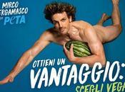 Mirco Bergamasco, come mamma fatto scelta Vegan PETA