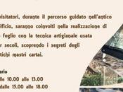 giornate mastro cartaio Cartiera Papale Ascoli Piceno