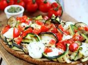 Bruschetta verdure grigliate