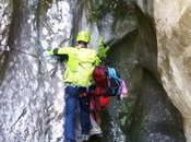 Ferrata Sallagoni, emozioni adrenalina canyon passi lago Garda