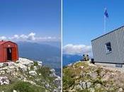 """nuovo bivacco """"Alla Madonnina"""" sulla Vigolana (monti Trento)"""