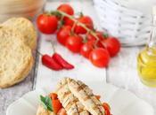 Friselle rucola, pomodoro, peperoncino sgombro grigliato