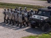 Kosovo/ Esercitazioni. Militari italiani moldavi insieme genieri ucraini libertà movimento settore occidentale