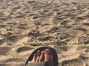 Scalpitando miei sandali