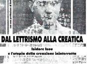 lettrismo alla Creatica Alessandro Scuro