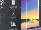 Galaxy Note spunta brochure conferma alcune caratteristiche chiave